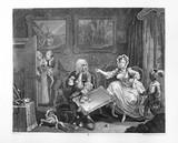 A Harlot's Progress - Plate 2: 1732