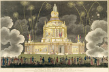 A Perspective View of the Revolving Temple of Concord: 1814