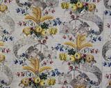 Spitalfields woven silk Court dress: 18th century