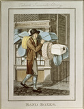 A seller of band boxes passing Tabarts Juvenile Library: 1804