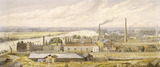 Panorama of the Thames from Millbank: 19th century