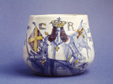 Restoration commemorative caudle cup: 1660