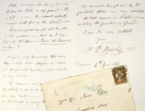 A letter from M I Brunel to W M H Ince: 1843