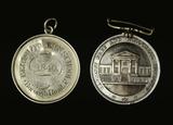 Two school badges: 19th century