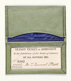 Season ticket for the Great Exhibition: 1851