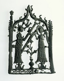 Lead alloy pilgrim badge: 14th century