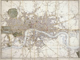 Cary's new plan of London and its vicinity: 1824