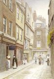 Cloth Fair looking East: 20th century