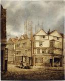 Street scene in Tothill Street: 19th century