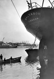 Cargo ship Baltabor at Hay's Wharf: 20th century