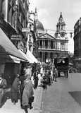Street scene, Ludgate Hill: 20th century