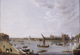 Lambeth Palace from Horseferry: 18th century