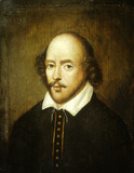 Portrait of William Shakespeare: 19th century