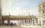 Holborn Viaduct from Farringdon Street: 19th century
