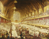 The Coronation Banquet of George IV in Westminster Hall, 1821