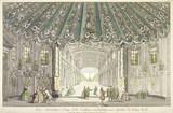 Vue interieure d'une belle Gallerie conduisant aux Jardins de Vauxhall: 18th century