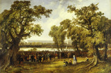 Crystal Palace in Hyde Park: 1851