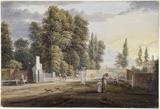 Bayswater Turnpike, Kensington: 18th century
