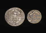 Coffee house tokens: 17th century