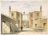 View of the interior of the House of Correction: 19th century