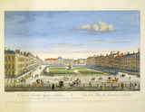 A View of Leicester Square London: 1753