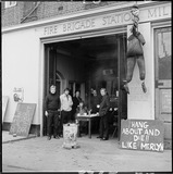 Millwall firefighters on strike: 1977