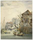 Wharf at Billingsgate: 18th - 19th century