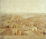 North view across the roof tops from Lincoln's Inn: 1845