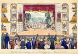 Drury Lane Theatre, Tom & Bob enjoying a Theatrical treat: 1821