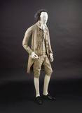 Gentleman's suit: 18th century