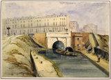 Regents Canal, Islington: 1842