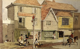 Old Houses, Islington: 1842