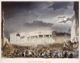 Bartholomew Fair, Smithfield: 1808