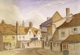 Exterior of the George Inn: 1850