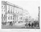 View of the Oxford and Cambridge Club, Pall Mall: 19th century