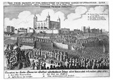 The True Maner of the Execution of Thomas Earle of Strafford: 17th century
