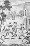 May Day at the London Spa: 1720