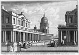 A Perspective View of the Colonades of the Royal Hospital at Greenwich: 1771