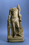 Roman sculpture of a male figure