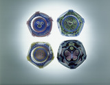 Selection of whitefriars paperweights: 20th century