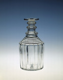 Whitefriars decanter: 19th-20th century