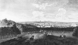 The view from One-Tree Hill in Greenwich Park: 1744