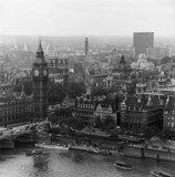 City of Westminster from the south bank of the Thames: 1963