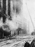 City bomb damage at Houndsditch: 1942