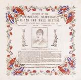 Souvenir paper handkerchief: 1908