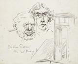 Sir Alma Tadema and Sir Henry Irving: 19th century