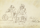 Two pats in a wheelbarrow taken near the Bank, Lothbury: 1810
