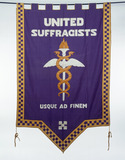 Banner of the United Suffragists: 20th century