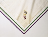 Detail of a suffagettes' handkerchief: 20th century