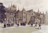 Westminster - Ashburnham House and Inigo Jones's Gateway:1890
